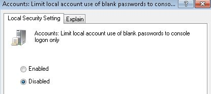 การแก้ไขปัญหาเวลา Share File บน Windows แล้วติด User Account